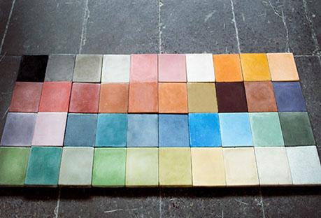 Laboratorio de colores baldosas